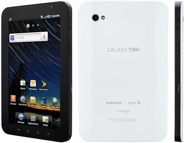 Samsung Galaxy Tab CDMA P100 Caracteristicas Y